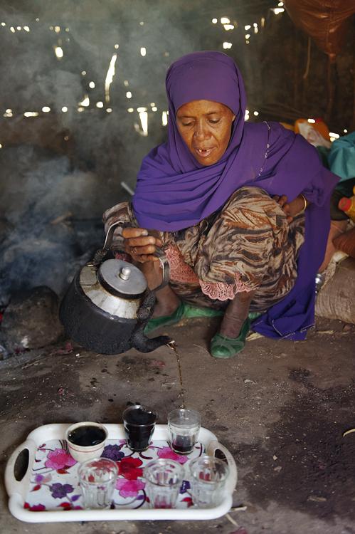 Äthiopische Kaffeezeremonie